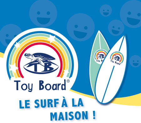 Toy Board - le surf à la maison !