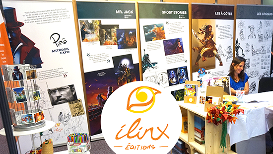 Exposition sur les illustrations de Pierô - ilinx éditions - FLIP de Parthenay