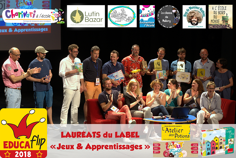 L'atelier des Potions, Donut Fight, Logic City : EDUCAFLIP 2018 !