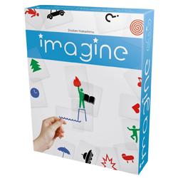 Imagine, un jeu de Cocktail Games, nominé EducaFLIP 2017, jeux et apprentissages, sur le festival des jeux de Parthenay